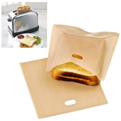 Reusable Toaster Bag Sandwich Bags Non Stick Bread Bag Toast Heating Food Bag