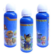 Paw Patrol Blue Aluminium Water Bottle