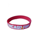 Chicago Fire Silicone Bracelet