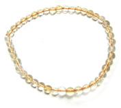 Power Bead Bracelet Citrine 4 mm