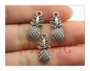 6pcs 19*9mm antique silver Pineapple charms