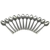 Argon Tableware Set Of 12 Stainless Steel 18/0 Teaspoons