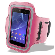 For Sony Xperia Z5 / Sony Xperia M4 Aqua / Sony Xperia M5 Universal Sports Running Jogging Gym Fitness Armband Case Cover