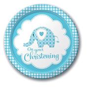 Sweet Baby Elephant Boy Plates