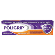 Poligrip Partials Seal & Protect Denture Fixative (40g) - Pack of 6