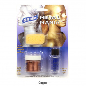 Metal Mania Copper Cosmetic Powdered Metals Graftobian Cruelty Free USA Makeup