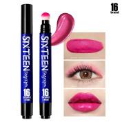 [16BRAND] Sixteen Finger Pen 5ml - Multi Stick Makeup - Lipstick & Eye Shadow & Blusher