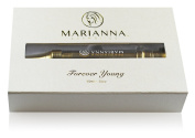 Marianna Cosmetics-Age-Defying Wrinkle Filler Cream- Forever Young is a 'must have' tool in the fight against ageing. Forever Young can smooth away those dark circles, lines, and unwanted textures instantly.