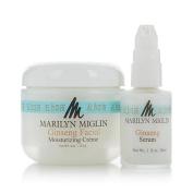 Marilyn Miglin Ginseng Facial Moisturising Creme & Ginseng Serum Duo