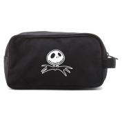 Jack Nightmare Before Christmas Bat Canvas Shower Kit Travel Toiletry Bag Case