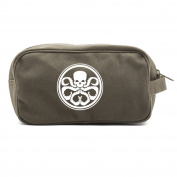 Hydra logo Canvas Shower Kit Travel Toiletry Bag Case