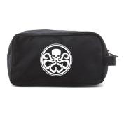Hydra logo Canvas Shower Kit Travel Toiletry Bag Case