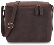LEABAGS Kokomo Toiletry Bag of Genuine Leather in Vinatge Look