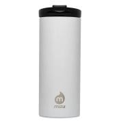 Mizu Travel Mug Coffee Lid Gloss White 500ml