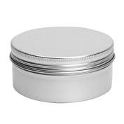 Cosmetics Container - TOOGOO(R)1/5/10/20/50 x Empty Cosmetics Pot Lip Balm Tin Jar Container screw 15ml