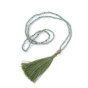 2016 Fashion Jewellery crystal bead tassel necklace, fashion Buddha head necklace