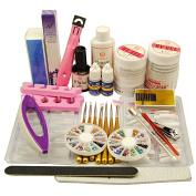 Coscelia UV Nail Set Base Gel Nail Art Manicure Tools Sets