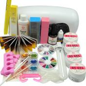 Coscelia 9W Lamp UV Dryer Nail Art Gels For Beauty Manicure Tools Sets