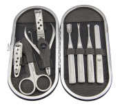 Maketop High Quality Stainless Steel Oval Manicure Set