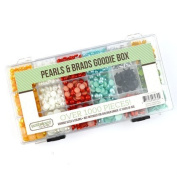 Pearls and Brads Embellishment Kit