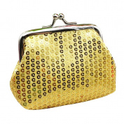 Small Sequin Wallet,Morecome Card Holder Coin Purse Clutch Handbag Bag