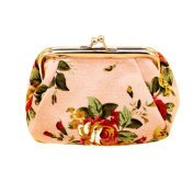 Retro Vintage Flower Wallet,Morecome Women Hasp Small Purse Clutch Bag