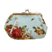 Retro Vintage Flower Wallet,Morecome Women Hasp Small Purse Clutch Bag