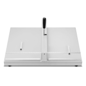 ChefStore Manual Creaser 18 Inch 460 mm Creasing Machine Heavy Duty Creaser Scorer with 2 Magnetic Block