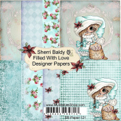 My Besties Single-Sided Paper 15cm x 15cm 8/Pkg-Filled With Love