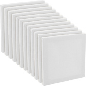US Art Supply 13cm x 13cm Mini Professional Primed Stretched Canvas