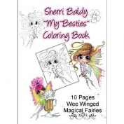 My Besties Colouring Book 13cm x 18cm 10 Pages-Wee Winged Magical Fairies