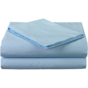American Baby Company 100 Percent Cotton Percale 3-Piece Toddler Sheet Set, blue