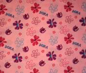 Dora's Pony Adventures (Flat Top Sheet Only) Size TODDLER Girls Kids Bedding