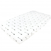 """Premium Cotton Nappy Changing Pad Cover """"Native"""" by Copper Pearl"""