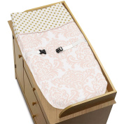 Baby Changing Pad Cover for Blush Pink, Gold and White Amelia Collection