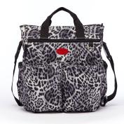 HC Leopard Nappy Bag . Mommy Bag