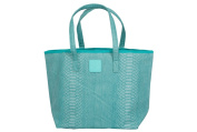 Posh Play - Spillproof, Multi-use Tote Nappy Bag - Turquoise