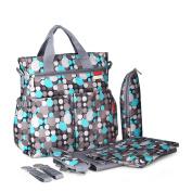 Fashion Multifunctional Mommy Bag Sets Baby Nappy Changing Bag Nappy Bag Tote Shoulder Bag
