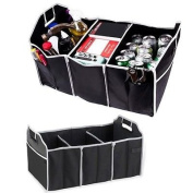 Extra Large Auto Trunk Organiser with 3 Compartments
