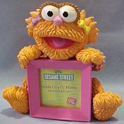Sesame Street Cold Cast Resin Zoe Picture Frame