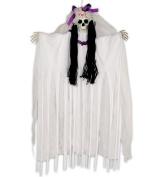 Loftus Day of the Dead Sugar Skull Bride 90cm Hanging Decoration, White Multi