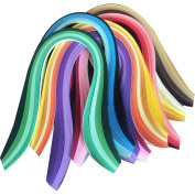 Lantee Quilling Paper Quilling Art Strips Set Pack of 8