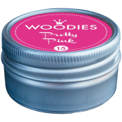 Woodies Dye-Based Ink Tin-Pretty Pink
