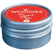 Woodies Dye-Based Ink Tin-Royal Rose