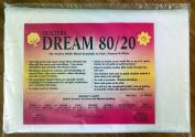 Quilter's Dream 80/20, White, Select Loft Batting - Throw Size 150cm x 150cm