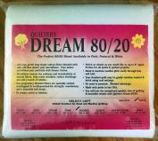 Quilter's Dream 80/20, White, Select Loft Batting - Double Size 240cm x 240cm