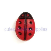 Creative Notions Lady Bug Thread Cutter For Portable Home Sewing Machines