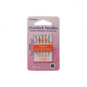 Hemline H107.F Med (F) Overlocker Machine Needles | 5x 80/12 | Overlocker/Serger