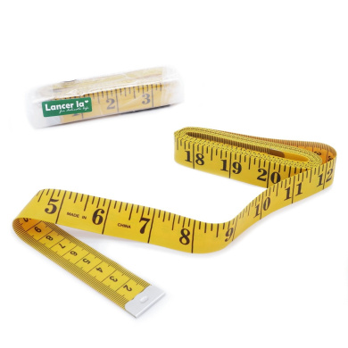 Cloth Tape Measurenment, 120 inches/300cm Soft Ruler for Sewing, Tailor, Cloth, Ruler with Clear Scale, by Lancer La(Set of 1)
