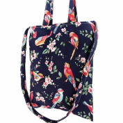 GBSELL Women Birds Flowers Shoulder Bag Student Bag Handbag Shopping Bag